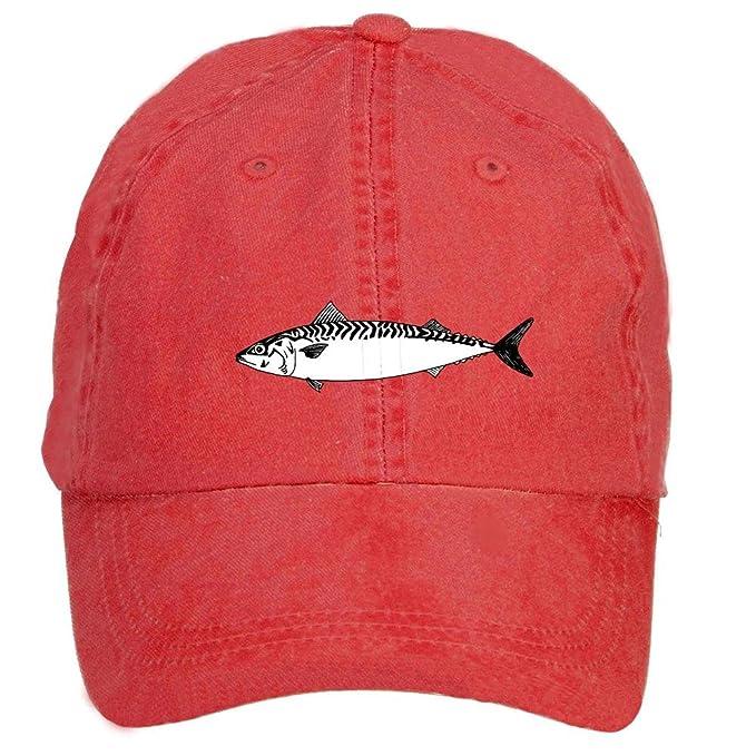 Pescado dibujo gorras de béisbol sombreros Unisex: Amazon.es: Ropa y accesorios
