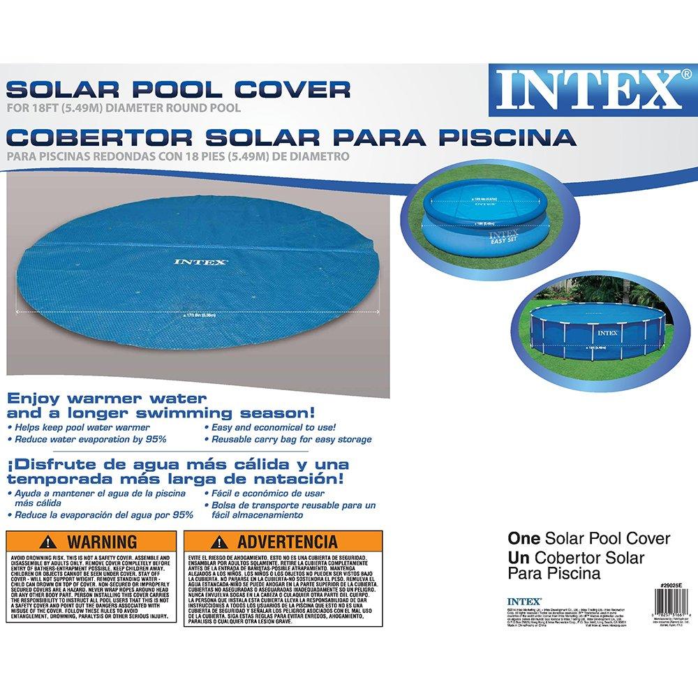 Intex 59955 - Cubierta solar de Easy/Marco 5, 49 m, a partir 05:31 m: Amazon.es: Juguetes y juegos