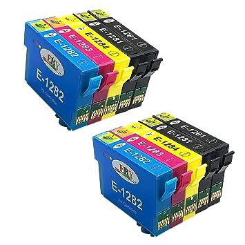 EBY Compatible T1281 T1282 T1283 T1284 T1285 Cartuchos de Tinta ...