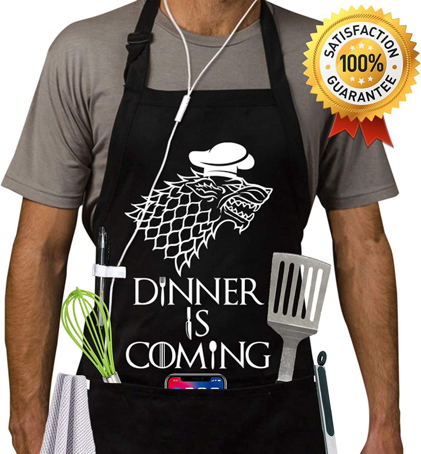Awesome chef t shirt gift ideas for a chef kitchen utensils accessories BBQ