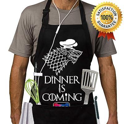 Grill Aprons Kitchen Chef Bib