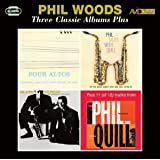 Three Classic Albums Plus (Four Altos / Phil Talks With Quill / Phil & Quill With Prestige)