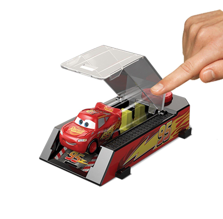 Disney Pixar Cars Mini Racers Jackson Storm Launcher