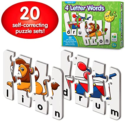 Amazon.com: The Learning Journey: Match It!   4 Letter Words   20