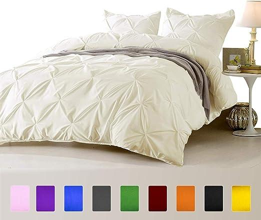 Duvet Cover Set King Size Parrot Green Solid 1000 TC Egyptian Cotton