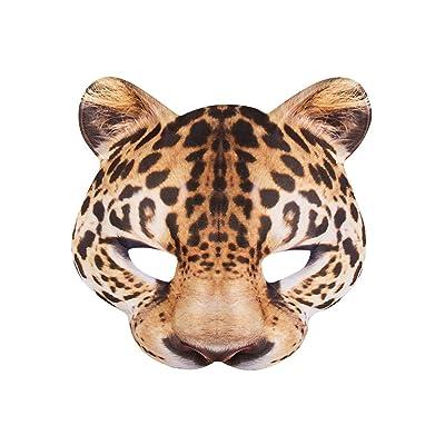 Boland 56731Demi-masque, léopard, Taille unique