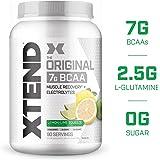 Scivation Xtend BCAA Powder, Lemon Lime, 90 Servings