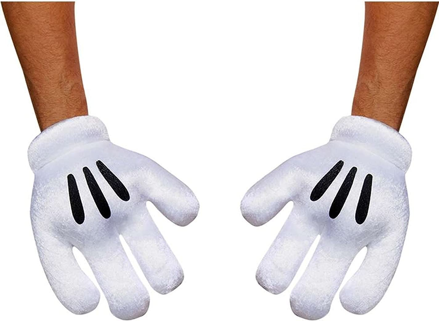 2018【SALE】Men//Women Disney Minnie Mickey Mouse Costume Cosplay Party Gloves Pair