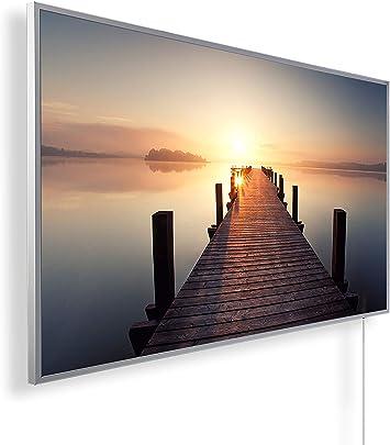 Könighaus Fern Infrarotheizung weißer Rahmen Bildheizung Auswahl HD