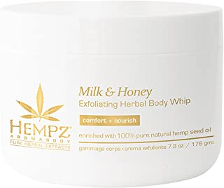 product image for Hempz Milk and Honey Exfoliating Herbal Body Whip, 7.3 Ounce