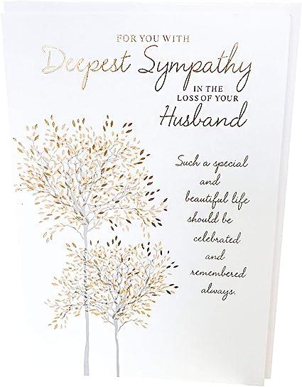 Carte de Vœux-avec sympathie-deuil Vierge à l/'intérieur