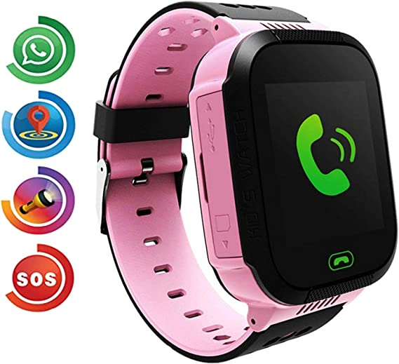 Benobby Kids Smart Watch Phone for Boys Girls Children GPS Touch Phone Wrist Watch with 1.44