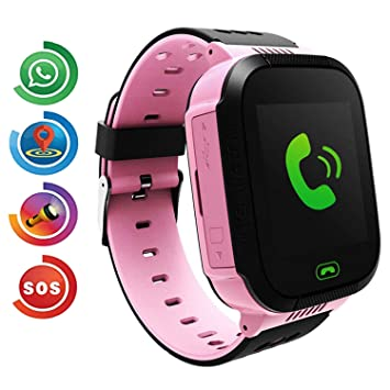 Kids Smart Watch Phone, LBS/GPS Tracker Smart Watch para ...