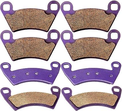 12 13 14 Polaris RZR SCITOO Sintered Brake Pads Fit for 08 09 10 11 12 13 14 Polaris Ranger