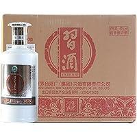 习酒53度银质500ml*6整箱装(原厂包装未拆封,送3只礼品袋单瓶ASIN:B0081PA34Y)