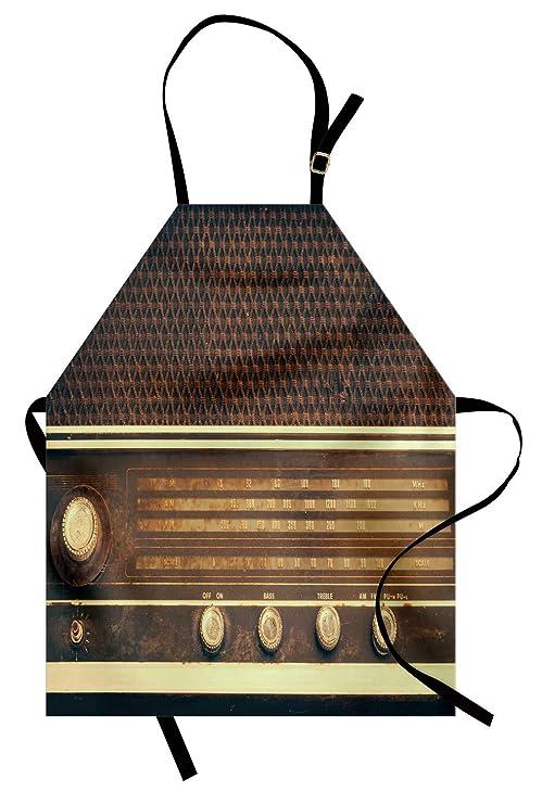 ABAKUHAUS Vintage Delantal de Cocina, Antiguo Retro Estilo Años 60 ...