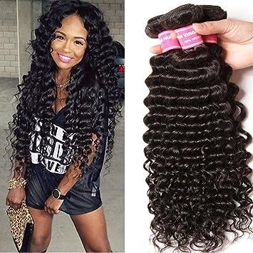 Amazon yiroo wholesale brazilian hair deep wave 3 bundles yiroo wholesale brazilian hair deep wave 3 bundles virgin brazilian curly hair 100 remy unprocessed pmusecretfo Image collections
