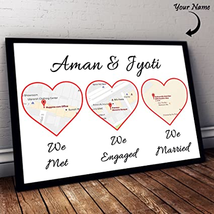 Buy Where We First Met Frame Online at Low Prices in India - Amazon.in