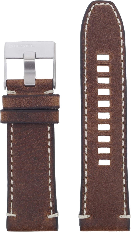 Diesel LB-DZ4443 - Correa de Repuesto para Reloj de Pulsera, Piel 26 mm, Color marrón