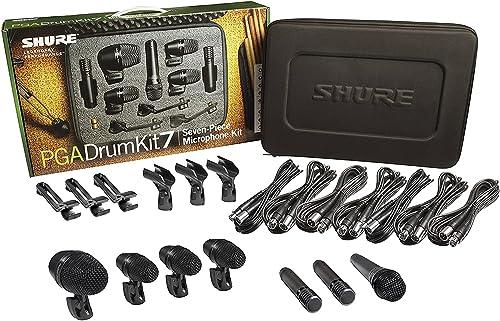 Shure: PGA Drum Kit 7 7-Piece Drum Microphone Kit