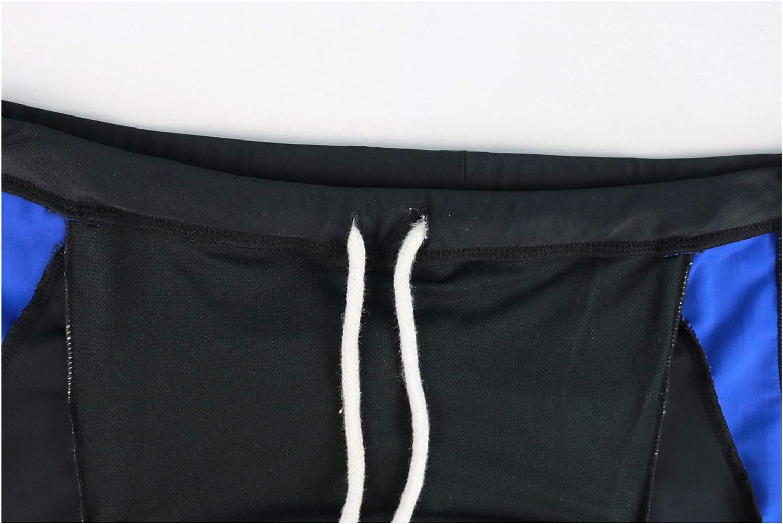 Mens Swim Trunks Beach Swimming Trunks Boxer Brief Swimsuit for Men Jonathan Swim Mens Square Leg Swimsuit