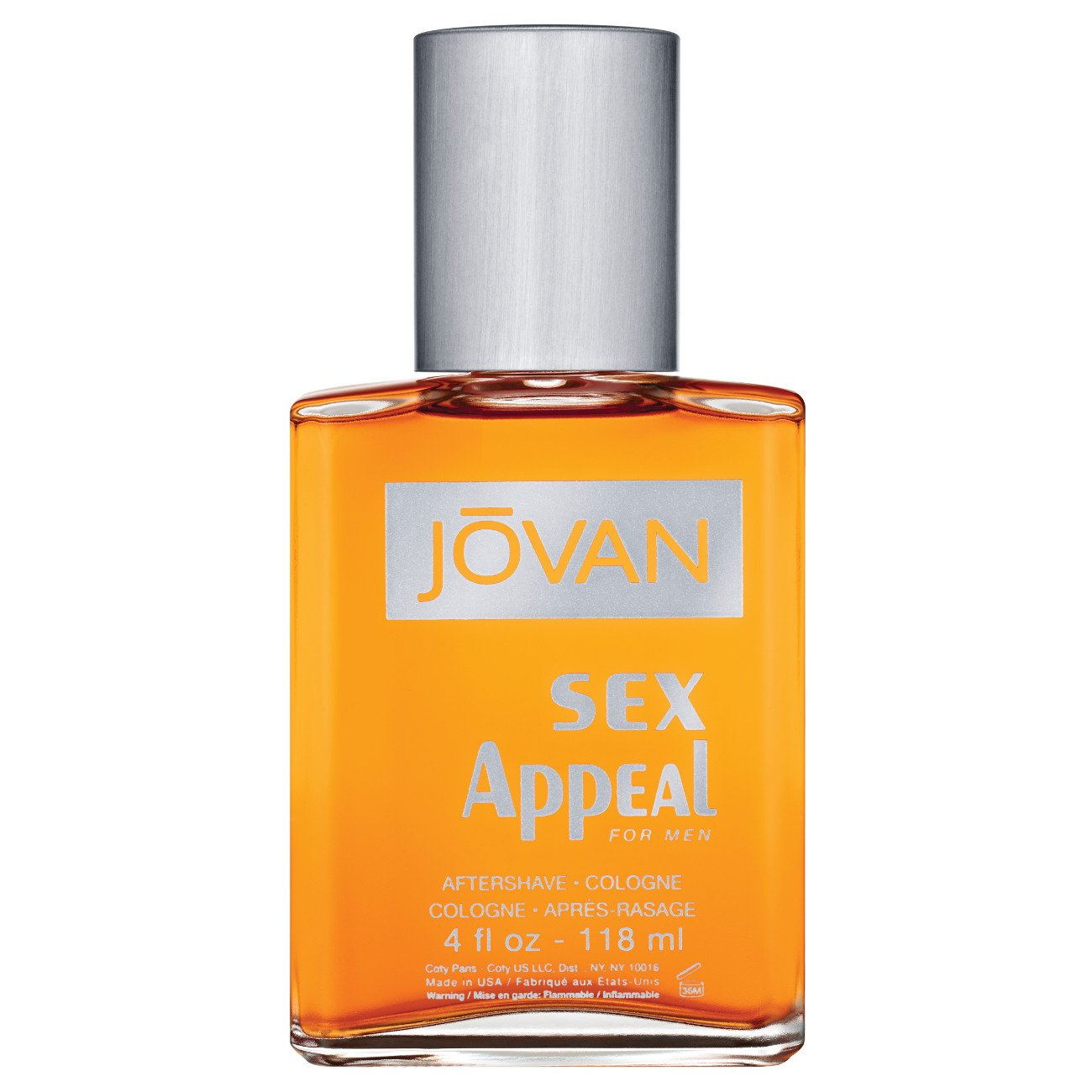 Jovan Musk for Men, After Shave Cologne, Sex Appeal, 4 fl. oz., Men's Fragrance with Musk, Spicy, Earthy & Woody, A Sexually Appealing & Attractive scent, makes a great gift by Jovan