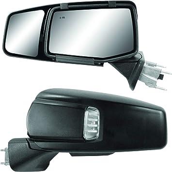 Amazon Com K Source 80930 Snap Zap Custom Fit Towing Mirror For Chevrolet Silverado 1500 Gmc Sierra 1500 2019 Pair Automotive