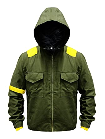 5519ee8635e8 Mens Green Twenty One 21 Cotton Hoodie Pilots Jacket at Amazon Men s  Clothing store