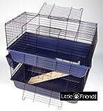 Little Friends Cage pour lapin à deux étages 80 cm
