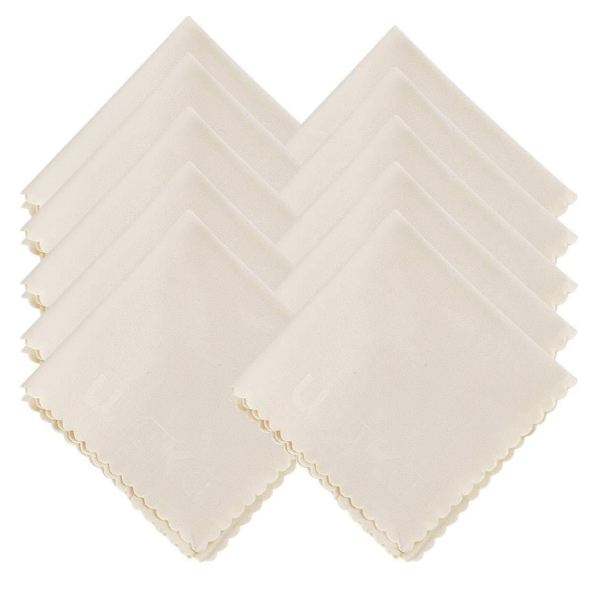10 pack microfibre Chiffons de Nettoyages 6x7