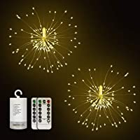 2-Pack DIGITBLUE 8 Modes Holiday Mood Christmas Twinklelight for Outdoor Indoor Festival Decoration