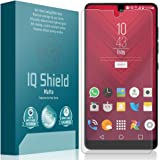 Essential Phone Screen Protector, IQ Shield Matte Full Coverage Anti-Glare Screen Protector for Essential Phone (PH-1) Bubble-Free Film