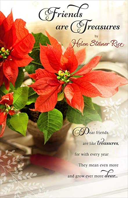 Helen Steiner Rice Religious Christmas Greeting Card Lovely