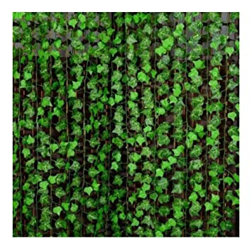 7.87ft Artificial Ivy Leaf Garland Plants Fake Vine Foliage Flowers Home Decor
