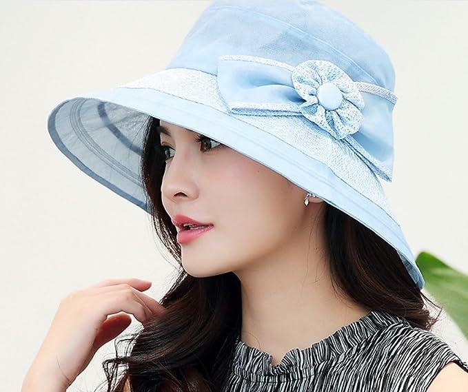 c94bfb6b Amazon.com : FANGSHAI UV Protection Hat Female Summer Sun Hat Korean  Version Sun Protection Sun Hat Travel Beach Hat ZXCV (Color : Beige) :  Sports & ...