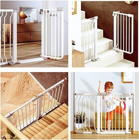 Valla Seguridad Barreras de puerta Puerta Del Bebé Hogar Guardia Con El Gato De La Puerta