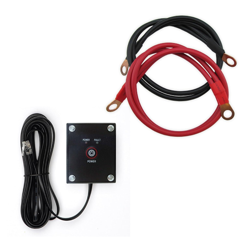 Power TechOn PS1005 Pure SINE Wave Inverter 1500W Cont//3000W Peak