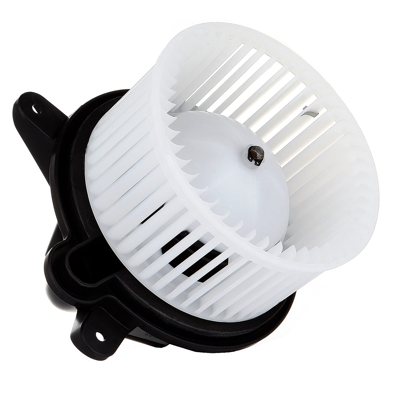 SCITOO ABS Plastic Heater Blower Motor w//Fan HVAC Resistors Blowers Motors fit 1997-2001 Jeep Cherokee//1999-2002 Jeep Wrangler