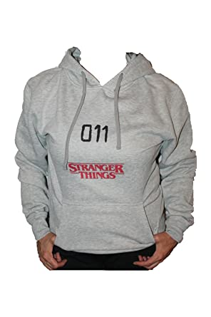 Sudadera Hoodie Stranger Things Eleven 011. Mujer Y Hombre (XL)