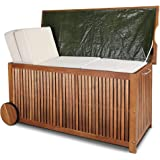 Wooden Sandpit With Lid Folding Out To Two Benches Amazon Co Uk Kitchen Amp Home