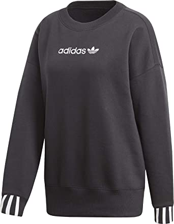Grau Adidas Originals Pullover Grau Damen Originals Pullover