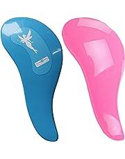 2 cepillos para el pelo desenredantes DEtangleR Tangle Master en color blanco o rosa o azul