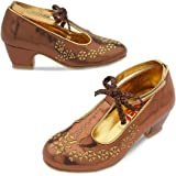 Disney Elena of Avalor Costume Shoes for Kids Size 7/8 TODLR Gold 428430214833