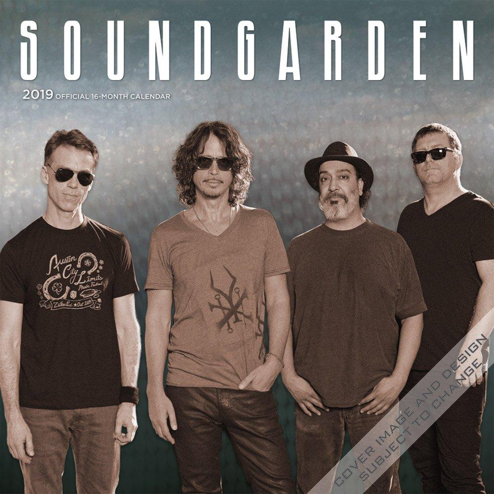 Soundgarden 2019 12 x 12 Inch Monthly Square Wall Calendar, Grunge Entertainment Alternative Rock ebook