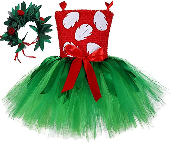 Amazon.com: Tutu Dreams Disfraz de Lilo hawaiano para niñas ...