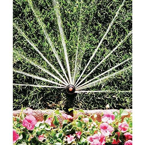 5 Pack Rain Bird 12SA-H - 4'' Rotary Pop-up Spray 13' - 18' - Half Circle 180° *Plus Free Sprinkler Wholesale Flashlight Key Chain* 12SAH Rotary 180 Degree (5)