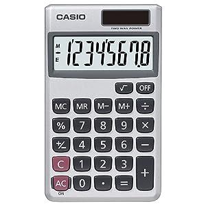Casio SL-300SV Solar Powered Standard Function Calculator