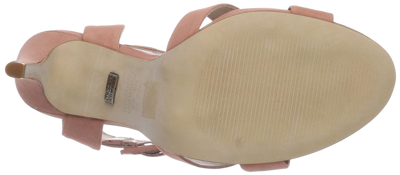 Buffalo London ZS 3085 NUBUCK Damen Knöchelriemchen Sandalen Pink (Dusty 03) 03) (Dusty 13aa61
