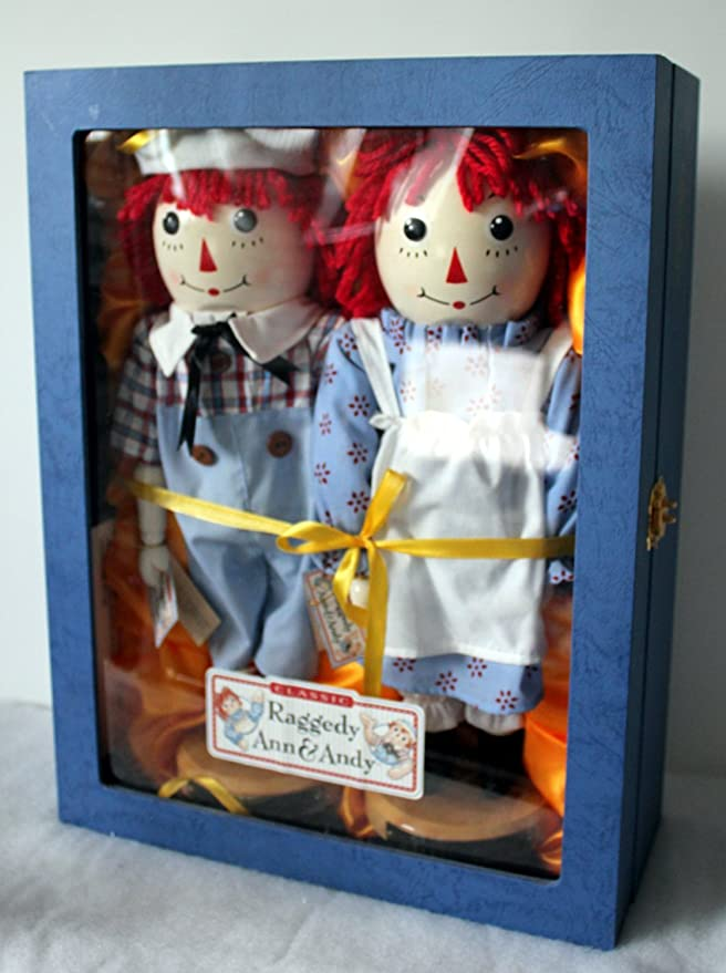 Amazon com: Raggedy Ann and Andy Nutcrackers: Home & Kitchen