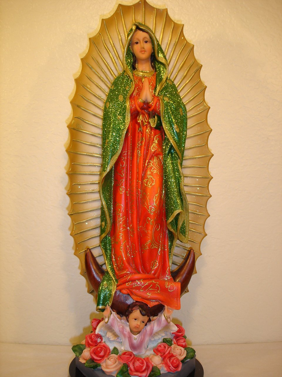 amazon com 18 inch our lady guadalupe religious figurine
